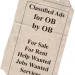 Thumbnail image for Classified Ad Listings, by OB for OB!