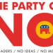 Thumbnail image for The Agenda of 'No'