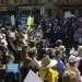 """Thumbnail image for Hundreds Rally in Downtown San Diego Against """"Citizens United"""" and for Campaign Finance Reform"""