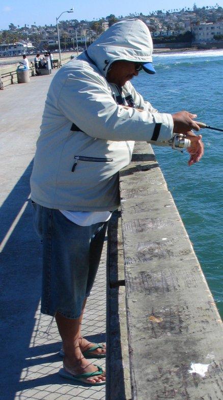 OB pier fishing