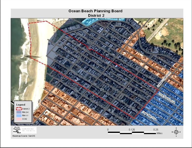 OB Dist 2 Map