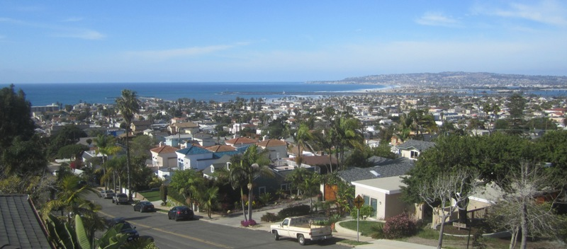 OB scene from hill by Travis