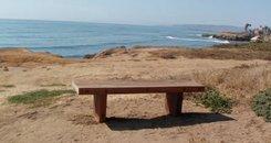 sunset cliffs bench new
