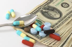 drugs prescript money