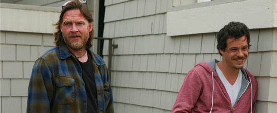 TERRIERS: L-R: Donal Logue as Hank Dolworth and Michael Raymond-James as Britt Pollack in TERRIERS premiering on FX. CR:Patrick McElhenney / FX