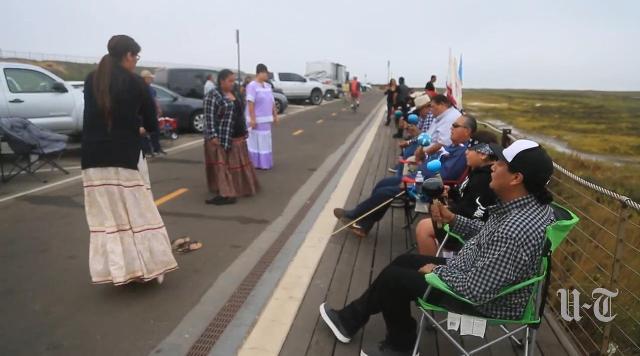 Kumeyaay protest Coronado 83116